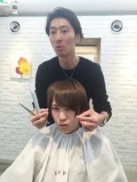 超人気モデル岩田響耶をカットカラーで超カッコよくした!