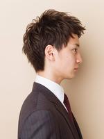 黒髪!さわやか!ビジネスショート! SIDEサムネイル