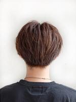 韓流ゆるほつれ髪【プドゥロプタセンター】 BACKサムネイル