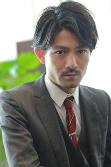 トラッドマッシュ ビジネスマン 髪型 メンズヘア 男性髪型