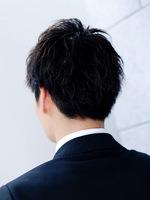 【好感度NO.1】ビジネス、就活対応メンズヘア BACKサムネイル