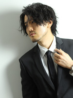 トラッドマッシュ ビジネスマン 髪型 メンズヘア 男性髪型 SIDEサムネイル