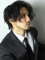 トラッドマッシュ ビジネスマン 髪型 メンズヘア 男性髪型 BACKサムネイル
