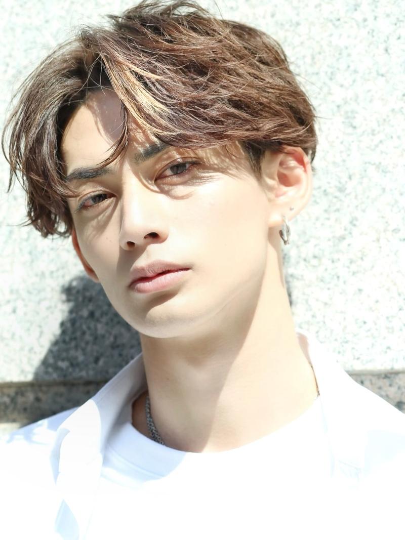韓流風ハンサムショート FRONT