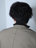トラッドマッシュ  メンズヘア メンズ人気髪型 BACKサムネイル