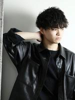 トラッドマッシュ メンズパーマ メンズ人気髪型 FRONTサムネイル