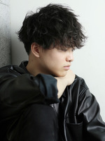 トラッドマッシュ メンズパーマ メンズ人気髪型 SIDEサムネイル