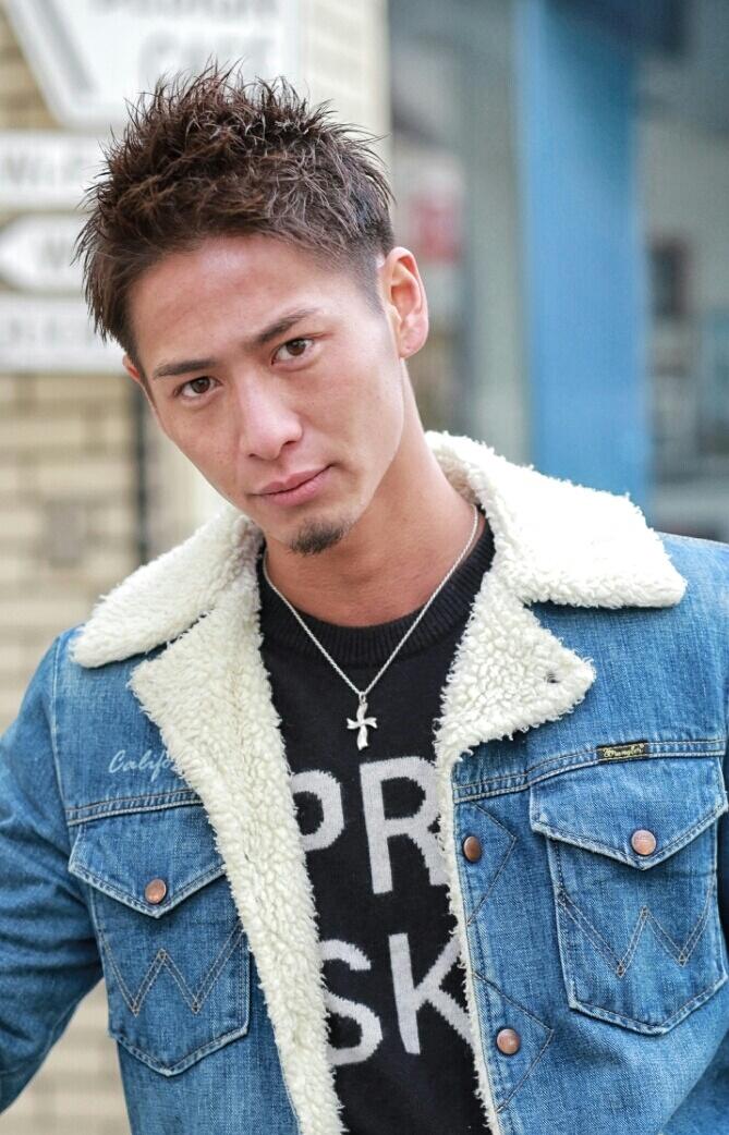 男気ベリーショート FRONT