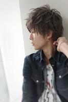 【グレイッシュカラー】×【シャープブラスト】 SIDEサムネイル