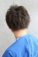 【耳かけサイドパート】×【シャープブラスト】 BACKサムネイル