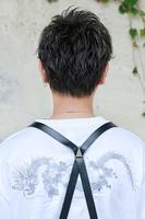 【ウェットブラスト】×【ソフトアシメ】 BACKサムネイル