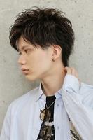 【隙間バング】×【ツヤ】で魅せる大人カジュアルショート SIDEサムネイル