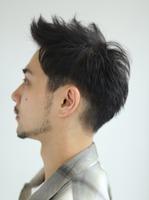 【ワイルドツーブロック】黒髪ショート SIDEサムネイル