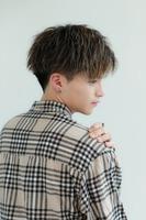 シエルマッシュ  【ツイスト風  センターパート】 BACKサムネイル