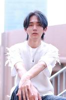 【韓流】センターパートマッシュウルフ BACKサムネイル