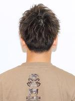 男の短髪!【スピアシャープショート】 BACKサムネイル