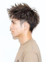 男の短髪!【スピアシャープショート】 SIDEサムネイル