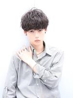 黒髪×パーマ【ルーズメイクマッシュ】 SIDEサムネイル
