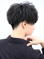黒髪×ナチュラル質感マッシュ SIDEサムネイル