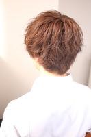 春髪王子ショート BACKサムネイル