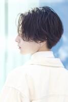 風になびく柔らかい動き【シルキーセンターパート】 SIDEサムネイル