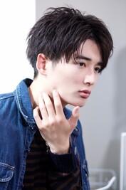 【横顔映え】 韓流マッシュ