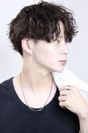 【波巻MIX】艶ウェーブハーフアップ