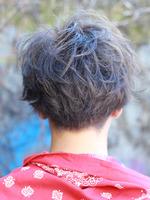 髪を着る『ラフブラストマッシュ』 BACKサムネイル