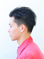 黒髪2ブロアップバング SIDEサムネイル