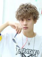 【アンニュイ髪】ランダムスパイラルマッシュ FRONTサムネイル
