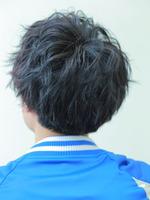 [黒髪]スパイラルフェザーマッシュ BACKサムネイル