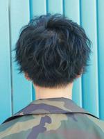 黒髪束感スマートマッシュ BACKサムネイル