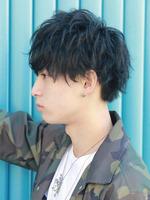 黒髪束感スマートマッシュ SIDEサムネイル