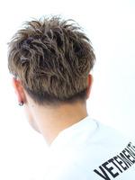 #服に似合う髪【ウェットソフモヒ】 BACKサムネイル