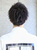 【ラウンジショート】細束サイドパート! BACKサムネイル