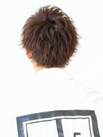 極上束感とシルエット【フェザーショートマッシュ】 BACKサムネイル