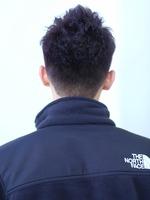 男らしいアップバング【ツーブロックモヒカン】 BACKサムネイル