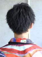 黒髪 ジャーナルショート BACKサムネイル