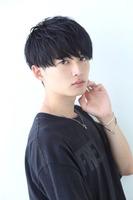 黒髪シンプルショート FRONTサムネイル