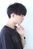 黒髪シンプルショート SIDEサムネイル