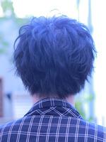 山崎賢人 髪型 ラフパーマ グランジ スマートマッシュ BACKサムネイル