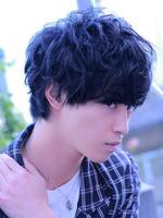 山崎賢人 髪型 ラフパーマ グランジ スマートマッシュ SIDEサムネイル