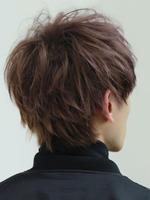 マット質感【サイドパートソフトマッシュ】 BACKサムネイル