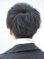 【山崎賢人風】クリアフェードマッシュ BACKサムネイル