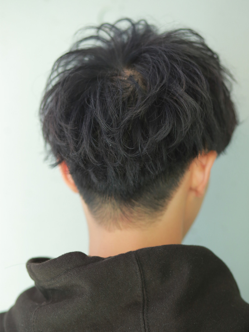 haircuts in the back ルーズメイクウェーブ マッシュ メンズ 髪型 吉祥寺annex mens hairstyle 3196
