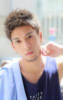 最高に決まる夏髪【クラッシュモヒカン】 FRONTサムネイル