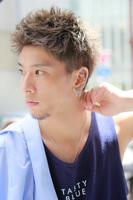 最高に決まる夏髪【クラッシュモヒカン】 SIDEサムネイル