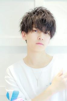 秋髪 「ルーズスパイラルマッシュ」