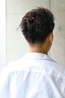 男をアゲるスクエアシルエット【ブロックショート】 BACKサムネイル