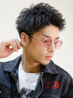男髪!ソリッドショート